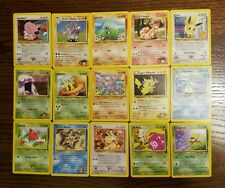 Pokemon Original Base set 2-Legendary Collection (Older cards) 15 Card lot