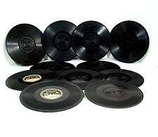 11 Edison Diamond Disc Phonograph Records & Sleeves - All Listed - Nice