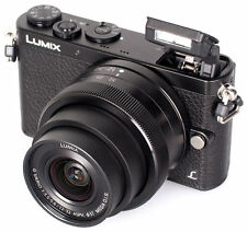 Panasonic Lumix DMC-GM1KEB-K Compact System Camera with 12-32mm Lens - Black