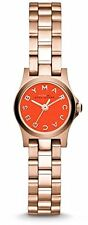 Marc by Marc Jacobs Henry Dinky Orange Rose Gold-tone Ladies Watch MBM3311