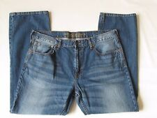 AEO American Eagle Original Straight Mens demim blue Jeans 38x32 meas 40 x 31