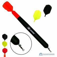 Marker float con 3 flights ∅ 16mm/220mm, markerpose, madera balsa pose carpfishing