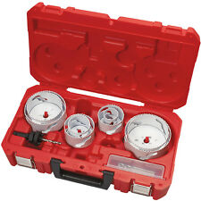 Milwaukee 49-22-4142 Plumber's Large Diameter Hole Dozer Hole Saw Kit - 12pc