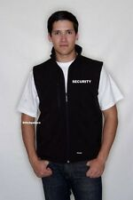 Soft Shell Embroidered Body Warmer Security,Dog Handler,Custom Front/Back S-2XL