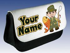 Pesca Personalizado Caja De Lápiz / Carrier-Boy's Para Hombre Regalo & llamado también