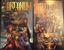 ARCANUM 1a,1b...NM-...1997...Brandon Peterson...HTF Bargain!