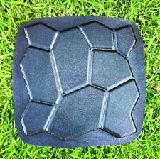 1 New Paver Stone ABS Plastic Mold Concrete Cement Plaster Patio Walkway Mould