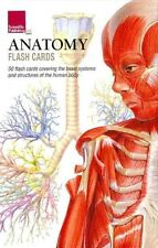 NEW Anatomy Flash Cards by Scientific Publishing (English) Free Shipping