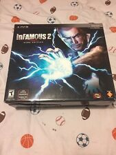 PS3 inFamous 2 -- Hero Edition PlayStation 3 Game , Cole Statue, Sling Pack New