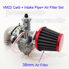 Mikuni 26mm Carburetor Air Filter Intake Pipe For 110 125cc 140cc Pit Dirt Bike