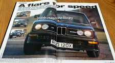 BMW Car March 1997 - BMW Kelleners Z1 - BMW E12 M535i BMW E36 3-series Bodykits