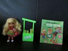 Complete Vintage Liddle Kiddles Lemons Stiddle Doll Little Lemonade Stand SetHTF