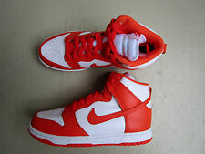 NIKE AIR DUNK HIGH Retrò QS 44 WHITE/ORANGE BLAZE