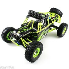 WLtoys No. 12428 1 / 12 2.4GHz High Speed 4WD Climbing RC Car with LED Light