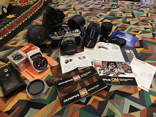 Olympus OM-2  extra lenses instructions 1979 model etc etc