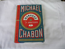 Manhood for Amateurs - Signed by Michael Chabon - 1st/1st Edition Hardcover-Mint