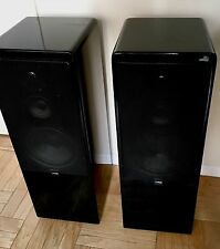 "Canton CT 80 ~31.5"" Black Lacquer Stereo floor Speakers"