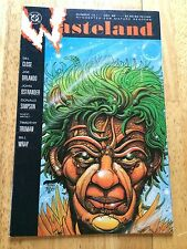1987 NEAR MINT DC HORROR COMIC BOOK WASTELAND 13 TIPPED TOES THE STAR WORM SPACE