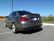 BMW painted performance Trunk SPOILER (ABS materiale) per e82/1m