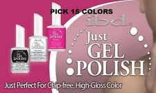 IBD Just Gel Polish Nail Soak off CHOOSE 15 COLORS SET 0.5 OZ