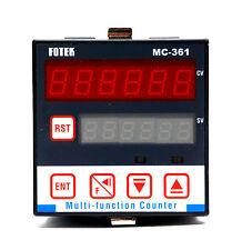 1pc Fotek MC-361 6 Digit Multi-Function Up/Down Counter DIN 72x72 EEPROM Memory