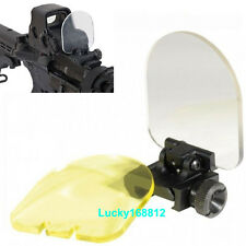 Foldable For Airsoft Sight Scope Lens Screen Protector Cover Shield Rail Mount