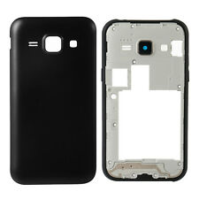 ★ SAMSUNG GALAXY J2 2015 FULL BODY HOUSING COVER WITH BACK PANEL (BLACK) ★