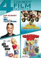 Me, Myself  Irene/Super Troopers/The Girl Next Door/Grandmas Boy (DVD, 2014) new