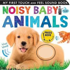 My First: Noisy Baby Animals by Patricia Hegarty (2016, Board Book)