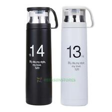 Cans Mug Vacuum Flask Thermos Cup Stainless Steel 500ml Travel Sports Bottle