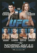 FPR-UFC 132 2015 Topps UFC Chronicles FIGHT POSTER PREVIEW card