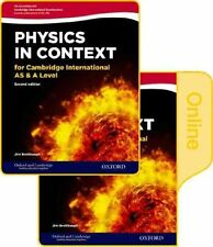 Physics in Context for Cambridge International as & A Level 2nd Edition:...
