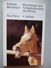 Psychologie Verhaltensweisen des Pferdes 1980 Pferd Verhalten