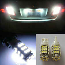 2x WHITE REVERSE LIGHT BULB LAMP BACK-UP 42-SMD LED XENON BACKUP 921 194 N-DV
