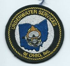 Under Services of Ohio employee patch 3-1/8 dia #402