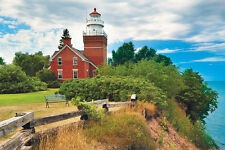 Jigsaw puzzle Lighthouse Big Bay Michigan 1000 piece NEW Made in USA
