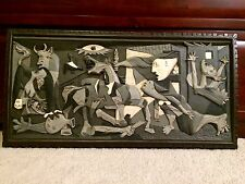Pablo Picasso Guernica by Hilario Epelde Wood Carving Fine Art Spain Basque