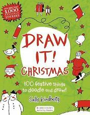 Draw It! Christmas: 100 festive things to doodle and draw!, Kindberg, Sally, New