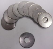 Flat Fender Washer 3/8 x 1-1/4 OD Stainless Steel 18-8-SS 304 Quantity 30