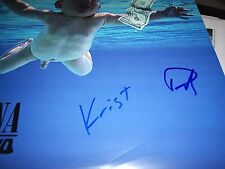NIRVANA SIGNED RECORD TITLED NEVERMIND MINT!! NEW NEVER PLAYED! GROHL+NOVASELIC!