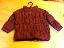 Esprit Fully Lined Padded Jacket w/Hood 12mths 80cm Burgundy BNWoT
