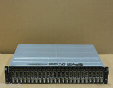 Dell PowerVault MD1120 SAS Storage Array 24x 600 GB 6Gbs hard drives 2controllers