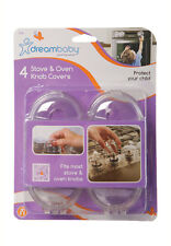 Dreambaby Oven/Stove Knob Cover 4 Pack