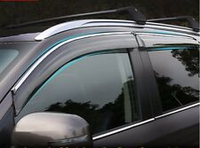 4pcs Window Sun Visor Rain Deflectors For Mitsubishi Outlander 2014 2015 2016