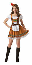 OKTOBERFEST GERMAN COUNTRY BAR GIRL WOMEN FANCY DRESS ADULT