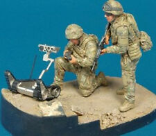 Hobby Fan 1:35 Scale Ranger Recon Team OIF ISAF 2 Resin Figures w/Robot HF-594