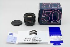 【NEAR MINT in Box】Contax Carlzeiss Planar 50mm f/1.7 T* MMJ C/Y Mount from Japan