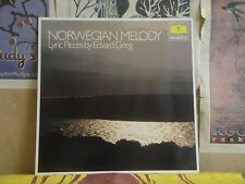 GRIEG NORWEGIAN MELODY - GERMAN DGG LP 413 667-1