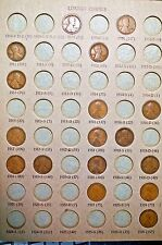 1945 Dansco Penny album with 35 1909-1945 Lincoln Cents