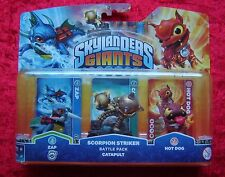 Scorpion Striker Battle Pack Catapult Skylanders Giants, Hot Dog Skylander, Neu